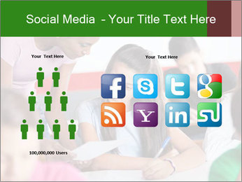 Young teacher assisting PowerPoint Templates - Slide 5