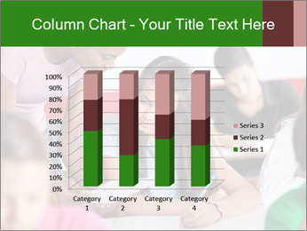 Young teacher assisting PowerPoint Templates - Slide 50
