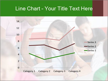 Young teacher assisting PowerPoint Templates - Slide 54