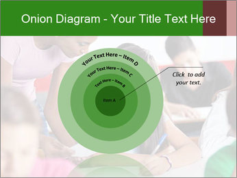 Young teacher assisting PowerPoint Templates - Slide 61