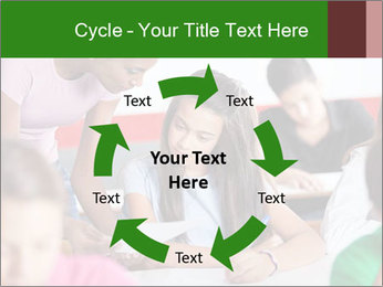 Young teacher assisting PowerPoint Templates - Slide 62