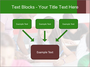 Young teacher assisting PowerPoint Templates - Slide 70