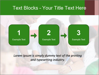 Young teacher assisting PowerPoint Templates - Slide 71