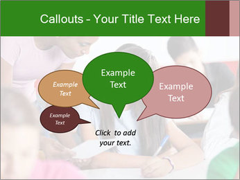 Young teacher assisting PowerPoint Templates - Slide 73