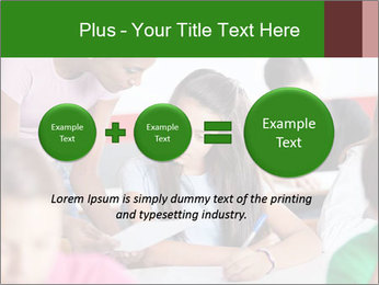 Young teacher assisting PowerPoint Templates - Slide 75