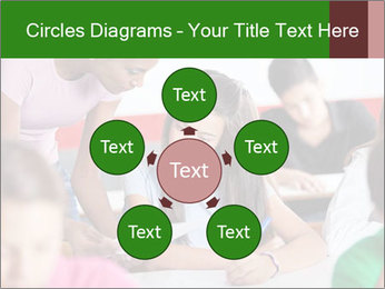 Young teacher assisting PowerPoint Templates - Slide 78