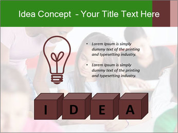 Young teacher assisting PowerPoint Templates - Slide 80