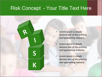 Young teacher assisting PowerPoint Templates - Slide 81