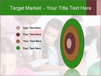 Young teacher assisting PowerPoint Templates - Slide 84