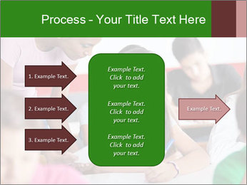 Young teacher assisting PowerPoint Templates - Slide 85