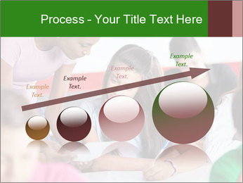 Young teacher assisting PowerPoint Templates - Slide 87