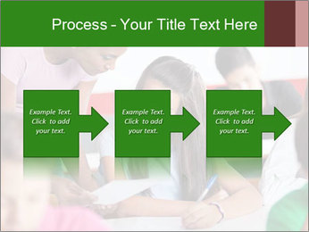 Young teacher assisting PowerPoint Templates - Slide 88