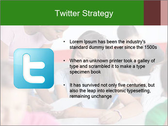 Young teacher assisting PowerPoint Templates - Slide 9