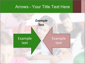 Young teacher assisting PowerPoint Templates - Slide 90