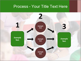 Young teacher assisting PowerPoint Templates - Slide 92
