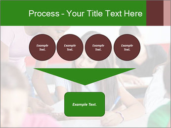 Young teacher assisting PowerPoint Templates - Slide 93