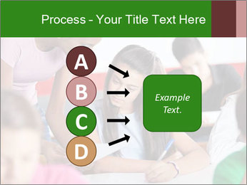 Young teacher assisting PowerPoint Templates - Slide 94