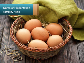 Eggs PowerPoint Templates - Slide 1