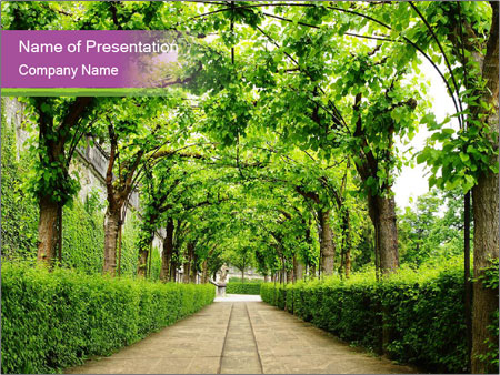 Alley Park PowerPoint Template