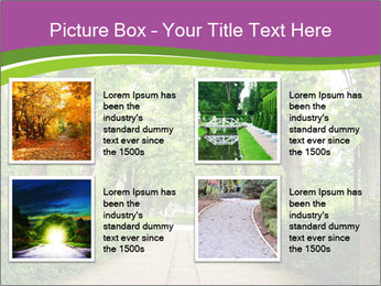 Alley Park PowerPoint Template - Slide 14