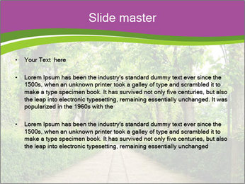 Alley Park PowerPoint Template - Slide 2
