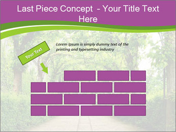 Alley Park PowerPoint Template - Slide 46