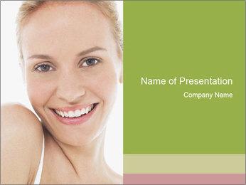 Closeup portrait PowerPoint Template - Slide 1