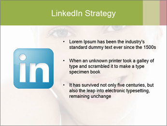 Closeup portrait PowerPoint Template - Slide 12