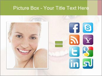 Closeup portrait PowerPoint Template - Slide 21