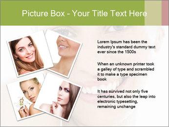 Closeup portrait PowerPoint Template - Slide 23