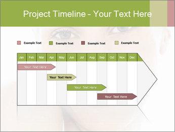 Closeup portrait PowerPoint Template - Slide 25