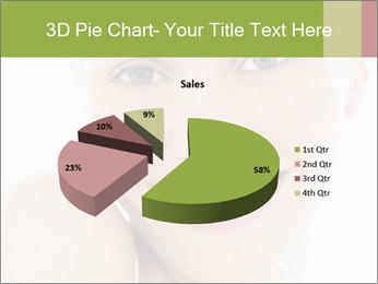 Closeup portrait PowerPoint Template - Slide 35