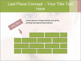 Closeup portrait PowerPoint Template - Slide 46