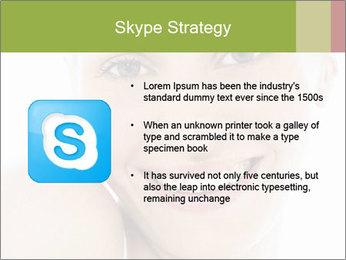 Closeup portrait PowerPoint Template - Slide 8