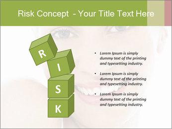 Closeup portrait PowerPoint Template - Slide 81