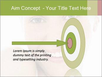 Closeup portrait PowerPoint Template - Slide 83