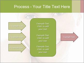 Closeup portrait PowerPoint Template - Slide 85