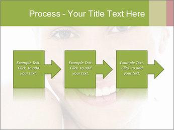 Closeup portrait PowerPoint Template - Slide 88