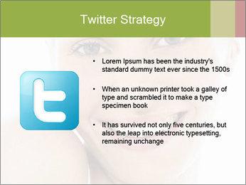 Closeup portrait PowerPoint Template - Slide 9