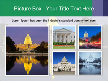 The Capitol Building PowerPoint Template - Slide 19