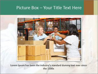 Worker Scanning Package PowerPoint Templates - Slide 15