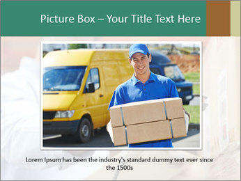 Worker Scanning Package PowerPoint Template - Slide 16
