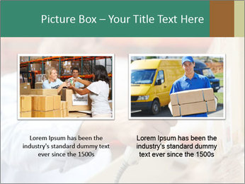 Worker Scanning Package PowerPoint Template - Slide 18