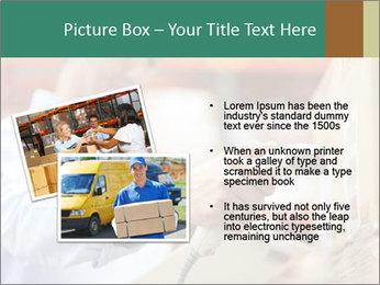Worker Scanning Package PowerPoint Template - Slide 20