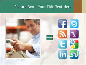 Worker Scanning Package PowerPoint Template - Slide 21