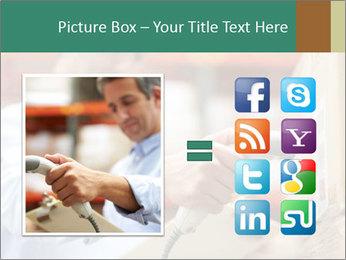 Worker Scanning Package PowerPoint Templates - Slide 21