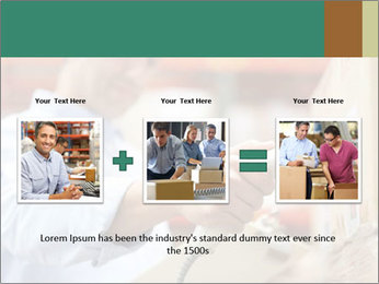 Worker Scanning Package PowerPoint Templates - Slide 22