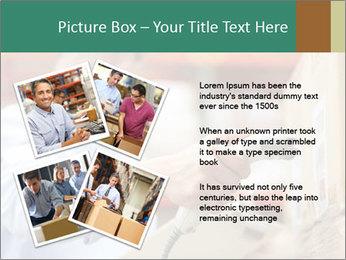 Worker Scanning Package PowerPoint Templates - Slide 23