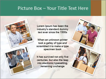 Worker Scanning Package PowerPoint Template - Slide 24