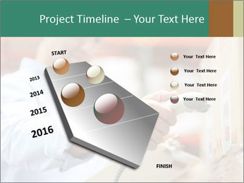 Worker Scanning Package PowerPoint Template - Slide 26